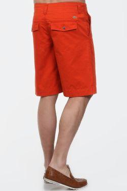 Бермуды Lacoste                                                                                                              оранжевый цвет