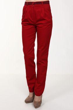 Брюки Lacoste                                                                                                              красный цвет