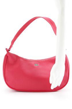 Сумка Lacoste                                                                                                              красный цвет