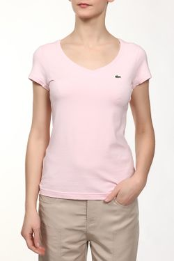 Футболка Lacoste                                                                                                              розовый цвет