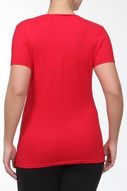 Футболка Lacoste                                                                                                              красный цвет
