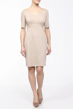 Платье M&L Collection                                                                                                              бежевый цвет