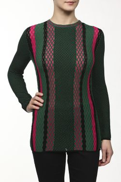 Пуловер Вязаный Missoni                                                                                                              зелёный цвет