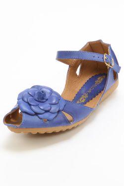 Босоножки Elche                                                                                                              синий цвет