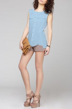 Блузка PRIO                                                                                                              голубой цвет