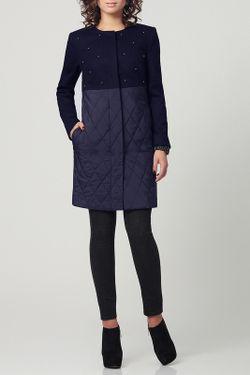Пальто PRIO                                                                                                              синий цвет