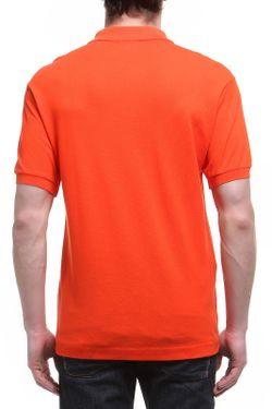 Поло Lacoste                                                                                                              оранжевый цвет