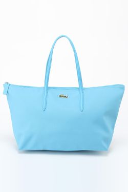 Сумка Lacoste                                                                                                              голубой цвет