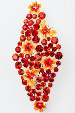 Заколка FRANSUA ARDY                                                                                                              оранжевый цвет