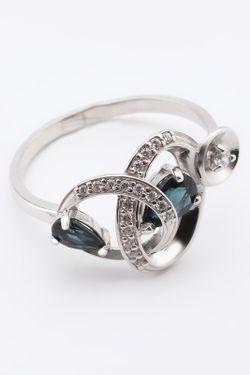 Кольцо RUSGEMS                                                                                                              синий цвет