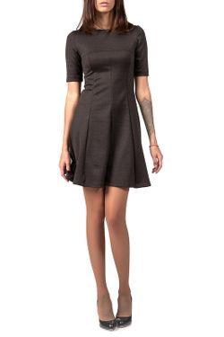 Платье LEYA                                                                                                              серый цвет