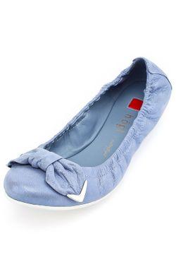 Балетки Hogl                                                                                                              голубой цвет