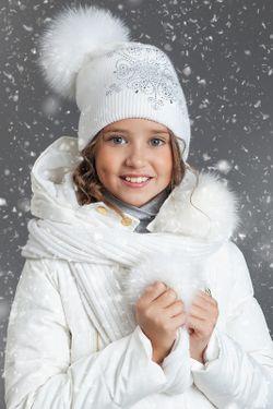 Шарф Aleksa                                                                                                              белый цвет