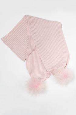 Шарф Aleksa                                                                                                              розовый цвет