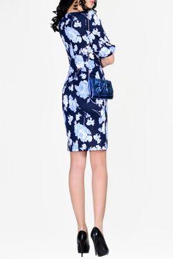 Платье La cafe                                                                                                              голубой цвет