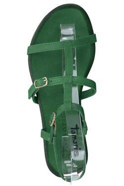Сандалии Tamaris                                                                                                              зелёный цвет