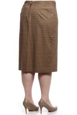 Юбка BERKLINE                                                                                                              коричневый цвет