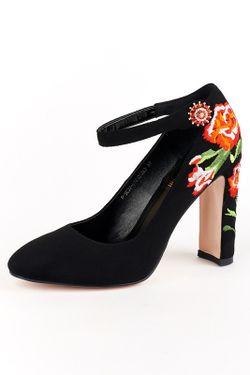 Туфли ELSI                                                                                                              чёрный цвет