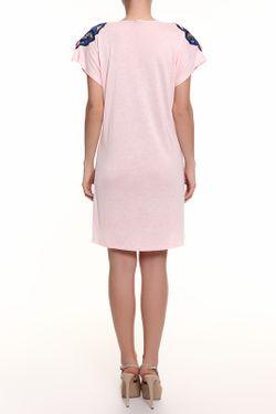 Платье Lin                                                                                                              розовый цвет