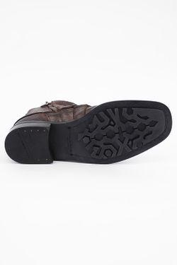 Полусапоги Dolce & Gabbana                                                                                                              коричневый цвет