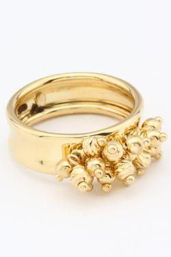 Кольцо NAVELL                                                                                                              желтый цвет