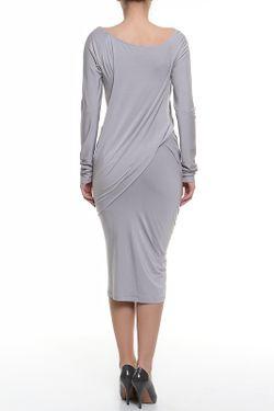 Платье Джерси Donna Karan                                                                                                              серый цвет