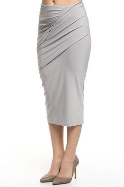 Юбка Джерси Donna Karan                                                                                                              серый цвет