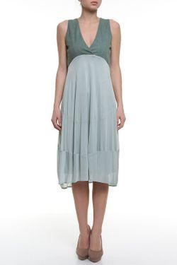 Платье Donna Karan                                                                                                              зелёный цвет