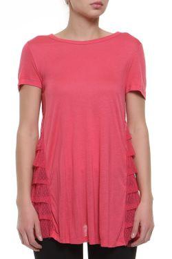 Футболка Джерси Red Valentino                                                                                                              розовый цвет