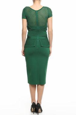 Платье Oscar de la Renta                                                                                                              зелёный цвет