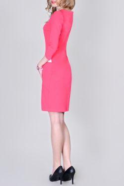 Платье La cafe                                                                                                              розовый цвет