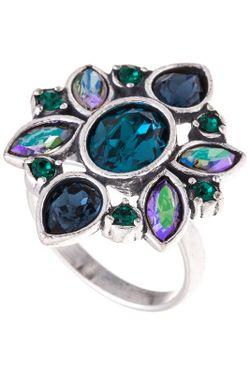 Кольцо Jenavi                                                                                                              многоцветный цвет