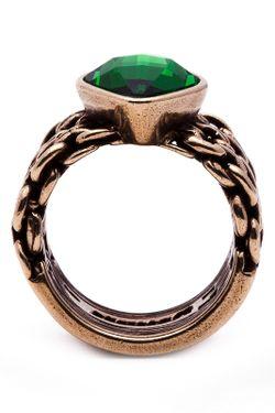 Кольцо Jenavi                                                                                                              коричневый цвет