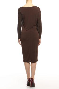 Платье Кособочка Alina Assi                                                                                                              коричневый цвет