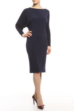 Платье Кособочка Alina Assi                                                                                                              синий цвет
