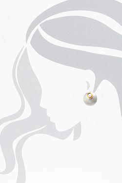 Серьги BELIEF                                                                                                              Серебряный цвет