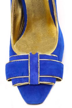 Туфли Carlabei                                                                                                              голубой цвет