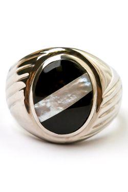 Кольцо FRANSUA ARDY                                                                                                              чёрный цвет
