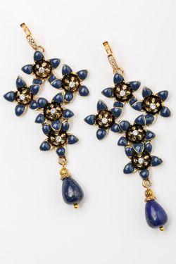 Серьги Patricia Bruni                                                                                                              синий цвет