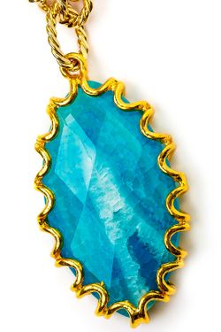 Колье Океан Anastasiya Usoltseva                                                                                                              синий цвет