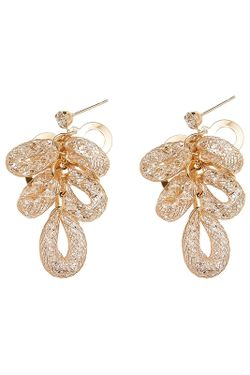 Cерьги Asavi Jewel                                                                                                              золотой цвет