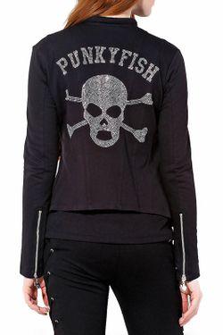 Пиджак Punkyfish                                                                                                              черный цвет