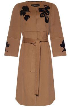 Пальто Escada                                                                                                              коричневый цвет