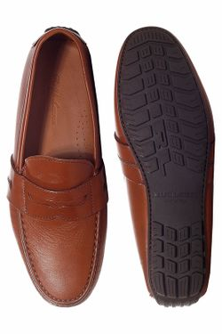Мокасины Ralph Lauren                                                                                                              коричневый цвет