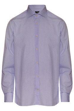 Рубашка Bogner                                                                                                              голубой цвет