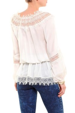 Блуза Blumarine                                                                                                              белый цвет