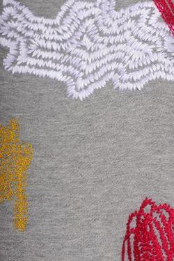 Толстовка Carven                                                                                                              серый цвет
