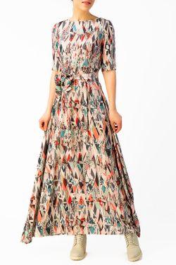 Платье Длинное YULIA'SWAY                                                                                                              голубой цвет