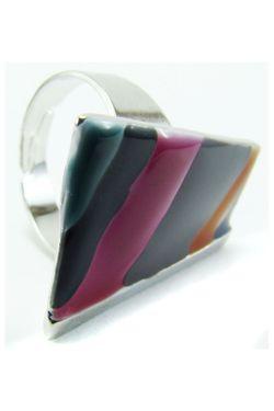 Кольцо Taya                                                                                                              многоцветный цвет