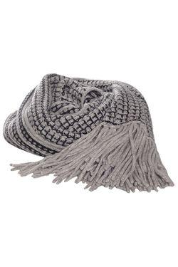 Платок Diane Von Furstenberg                                                                                                              серый цвет